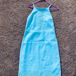 Baby Blue Banana Republic Dress